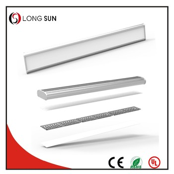 High power 120w flat linear led lights 5feet slim ceiling batten led light with 5 years warranty