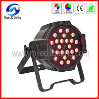 Quad color 24*4in1 10w RGBW led par64 die-casting par 64