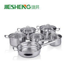Professional kitchen cookware stainless pots and pans set