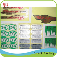 Aluminium foil Custom Self Adhesive Laminated Vinyl Package Labels for Coconut Water Kefir Beverage Bottles
