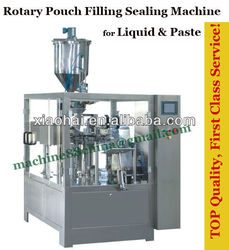 Fully Automatic Liquid Pouch Forming Filling Sealing Machine
