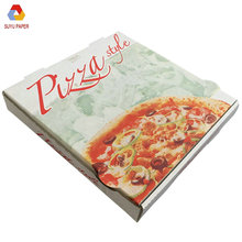 China wholesale pizza slice box new design 8 inch white cardboard pizza packing box
