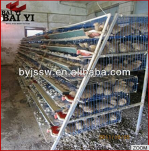H Type Quail Cage Design For Poultry Farm