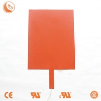 NEW 100 mm X 150 mm 110 V 120 W Water Tank Pan Heater Silicone Heat Pad 1 PC