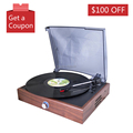 best quality cheap price portable retro vinyl lp turntable record player