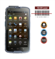 5 inch courier android pda with 1D/2D barcode reader, NFC, gps ,wifi, 3G