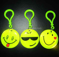 PVC Reflective Key Chain/Key Pendant/Trademark with Logo
