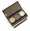 Fashion 3 Color Eyebrow Powder Palette, EyeBrow Makeup Powder Private label