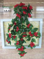wall hanging flower vines/Artificial hanging plants /Ivy