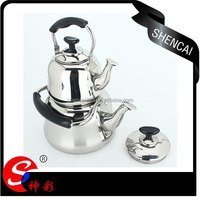 stainless steel double kettle coffee kettle two kettle sets double tea pot