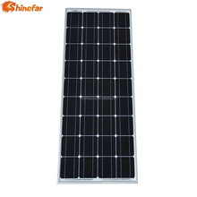 2017 Class A mono 100w small solar panel with 36 cells in series
