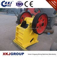 Alibaba coal mine equipment used small stone jaw crusher for sale