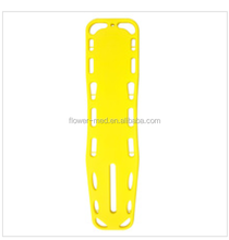 Medical and plastic spine Board with head immobilize and straps