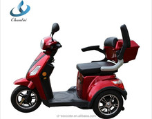 EEC approved 500w handicapped electric 3 wheel mobility scooter for adult