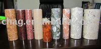 PVC and PET composite decorate film