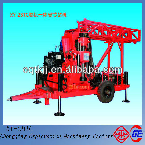 Special Recommend Economical Price Depth 100m-530m XY-2BTC Used Truck Mounted Water Well Drilling Rig
