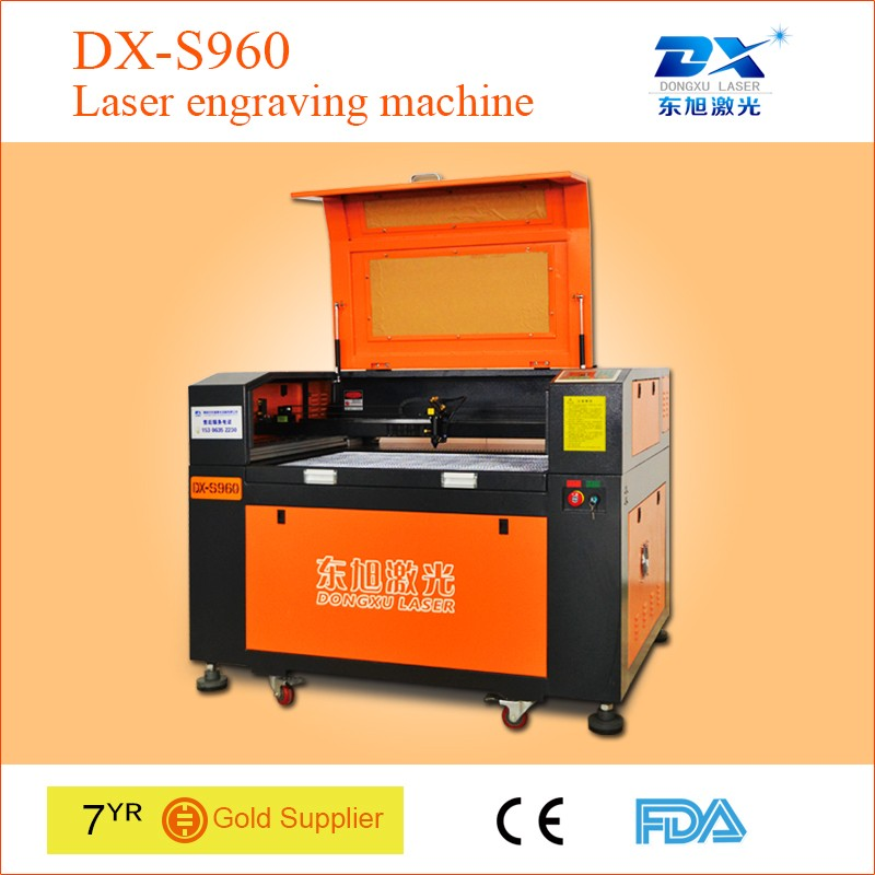 High quality low price wood laser engraving machine with electric lift platform