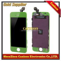 Alibaba express mobile phone original but cheap for iphone 5 lcd with digitizer