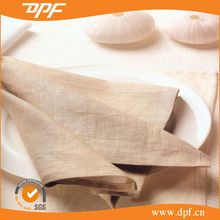 Eco-friendly 100% natural linen fitness napkin for bread basket