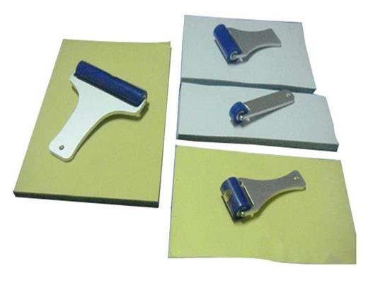 Disposable Silicone Sticky roller Pad for Cleanroom use