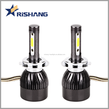 auto parts, High power H7 led headlight bulb 60W 8000lm, H1 H3 H7 H8 H11 9005 9006 9012 COB led headlight for car with canbus