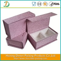 Haining supplied mini 2pcs chocolate paper gift box chocolate candy packaging box