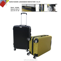 pc retro zip puller travel trolley luggage and bags
