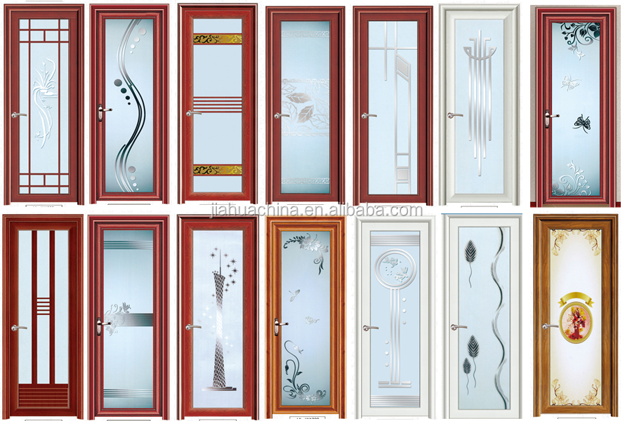 2015 alibaba new style aluminum sliding door for bathroom