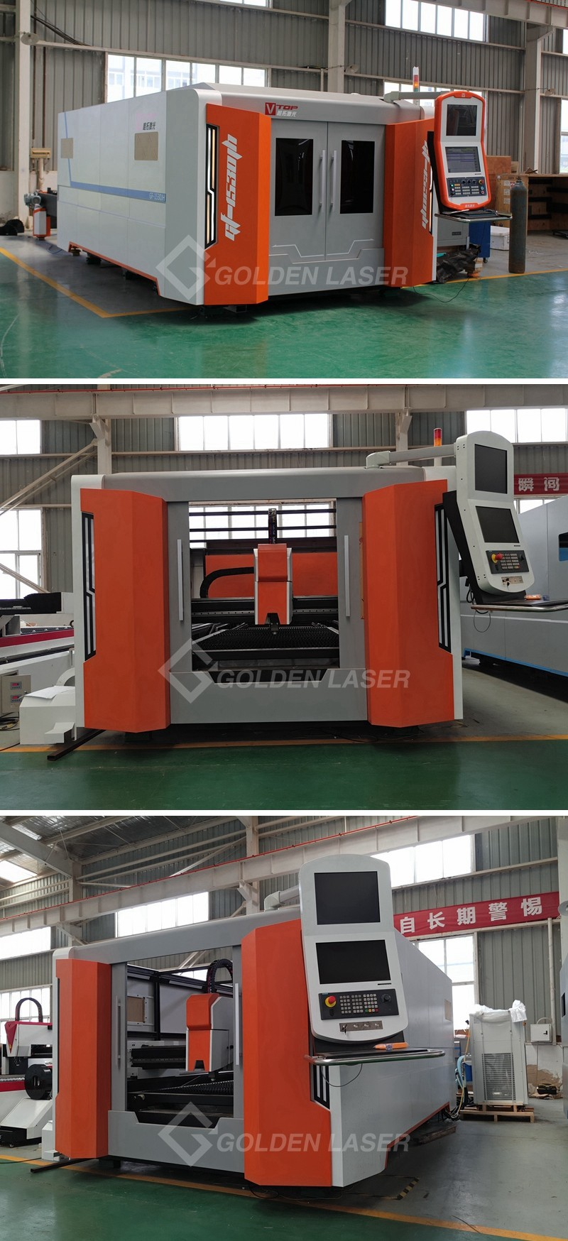stainless steel sheet / plate fiber laser cutting machine 3000W up to 10mm
