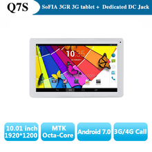 Tablet 10 inch Octa Core Black PC IPS touch screen 2+16G WIFI 3G 4G with sim card,Tablet PC with DC Jack