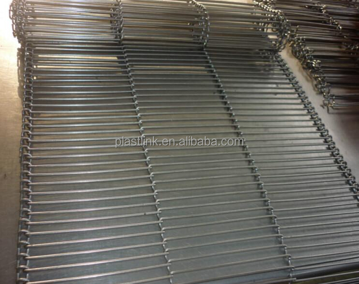 heavy duty Perforated Stainless steel conveyor belt wire mesh for oven resistance high temperature