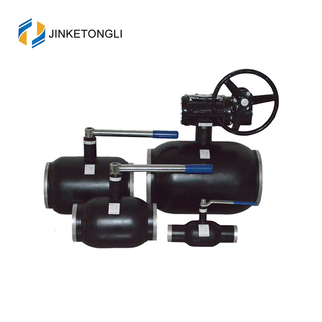 JKTL2W029 New Arrivals Water Oil Gas Medium Low Pressure Worm Gear Standard Air Operated Ball Valves 2 inch