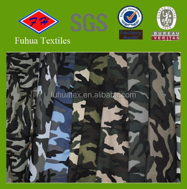 MC CP Camouflage Printed Oxford Fabric