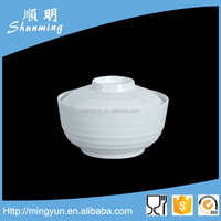 Plastic melamine soup cup with lip