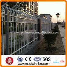Decorative Tubular Wrought Iron Fence