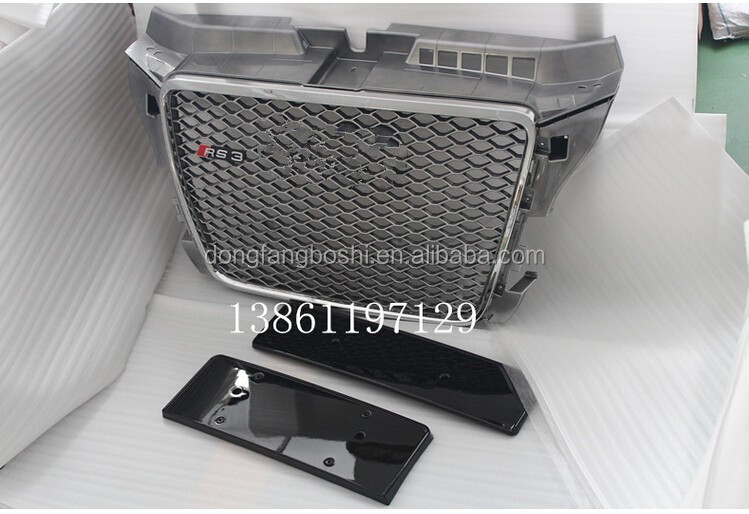 car ABS material front grille for audi A3 8P 08-12