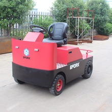 6000 kg 6 ton Factory price four wheels electric tow tractor AC drive motor