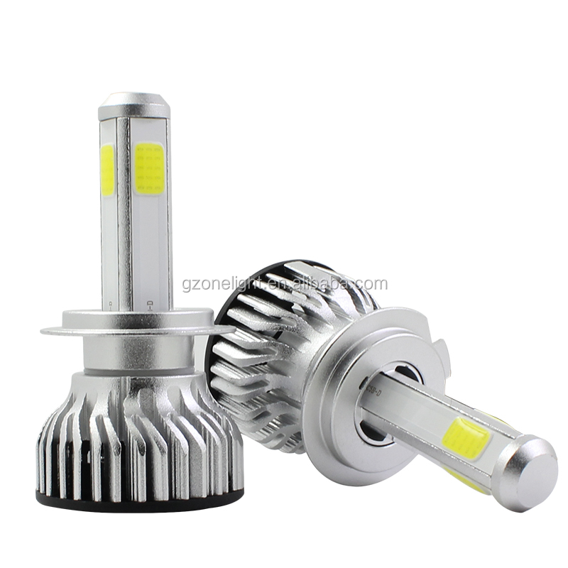 4800LM car led headlight canbus 40W 12v led headlight 6000k H1 H13 HB3 HB4 9004 9007 h7