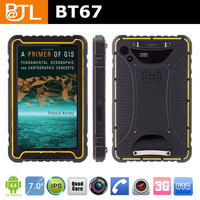 waterproof tablet nfc with Cruiser BT67 TK7 1GB+16GB RS232 rugged android tablet ip67