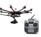 15km 2-5kg unmanned aerial vehicle/ aviation drone aircraft + remote control wireless manless helicopter