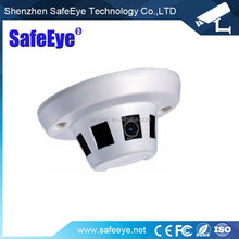SafeEYE 1/3 Sony Effio-E Mini Smoke Pinhole camera/ Detector HD CCTV Hidden Dome Camera