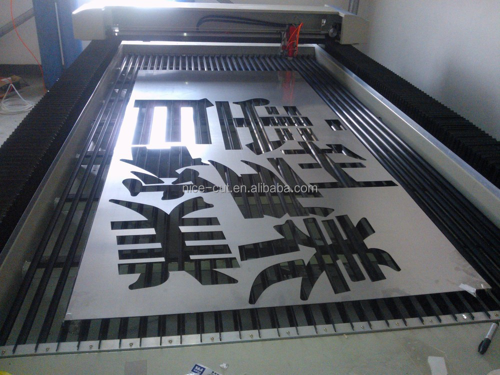NICE-CUT STAINLESS LASER CUTTING MACHINE LASER CUTTER CO2 LASER ENGRAVING AND CUTTING MACHINE FOR PLYWOOD ACRYLIC CUTTING