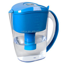 3.5L BPA Free portable ionized alkaline water filter pitcher/bottle/cup/jug/pot