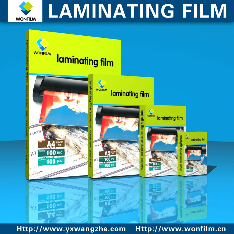 High quality Laminating pouch film