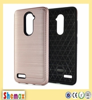Anti-Scratch Protective Skin Slim-Fit Lightweight Hard Celulares 2 in 1 Cover Case For LG V20