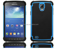 Free Logo Offer!!mobile phone bags & cases custom 2 in 1 pc silicon phone case for samsung galaxy s4 active