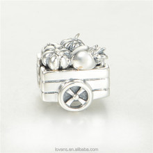 Cremation Jewelry Charms Metal Bead T170