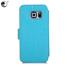 China Wholesale Cell Phone Case Wallet Stand Flip Case Smart Cover For Samsung S6 Edge Phone Case Maker
