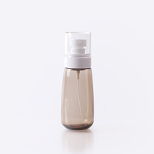<strong>100</strong> ML PETG cosmetic plastic amber empty lotion bottle ready to ship