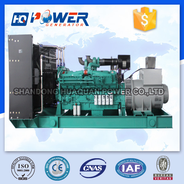 continuous running electric generator 900kw for sale